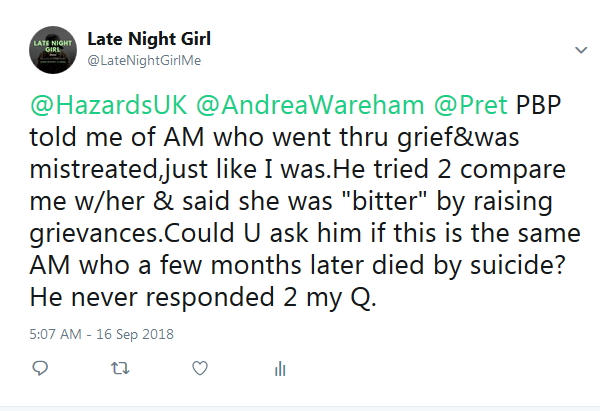 2018-09-16 Re Emily to Pret