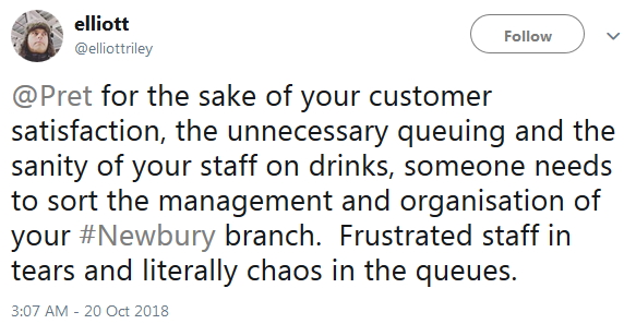 Pret Staff Cry