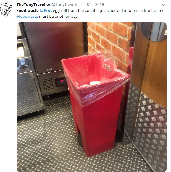 2018-03-05 breakfast baguettes out of time binned