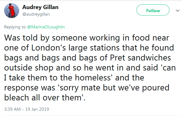 2019-01-19 bags of food text