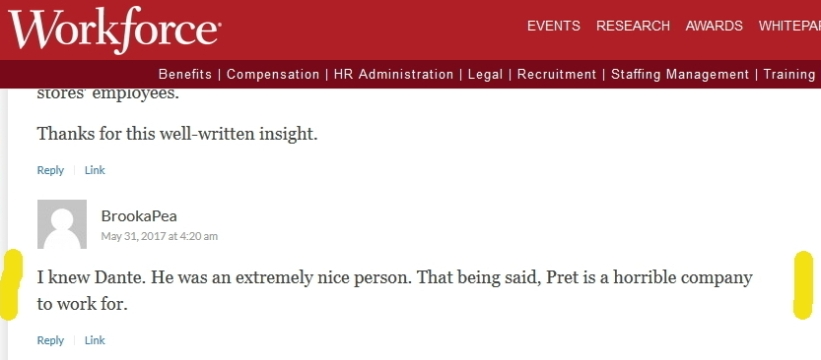 10 Chicago Pret horrible company to work for