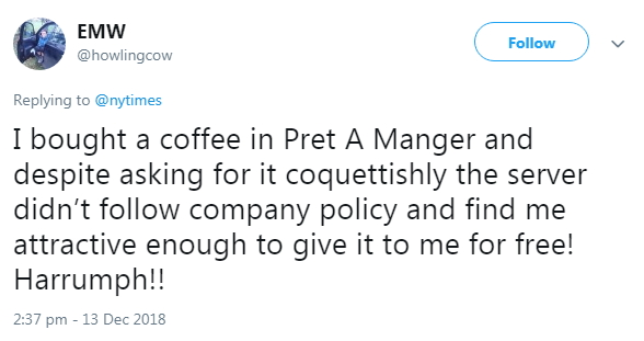 2018-12-13 NOT attractive for free coffee