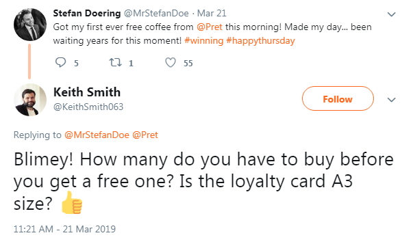 2019-03-21 Free coffee since years2
