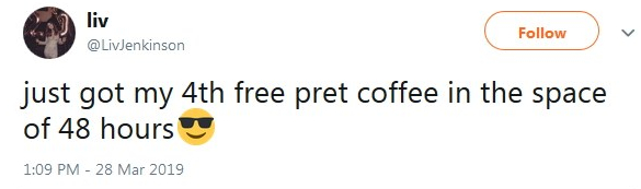 2019-03-28 4th Free coffee