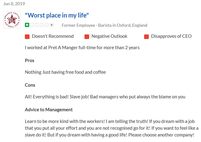 2019-05-08 Worst place barista Oxford
