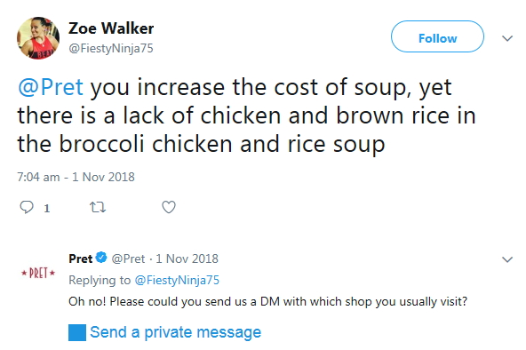 2018-11-10 Chick BrocRice Soup Increase Price