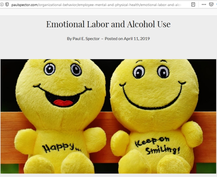 EMotional Labor Alcohol