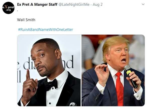 2019-08-02 RuinBandNameWith1Letter Wall Smith
