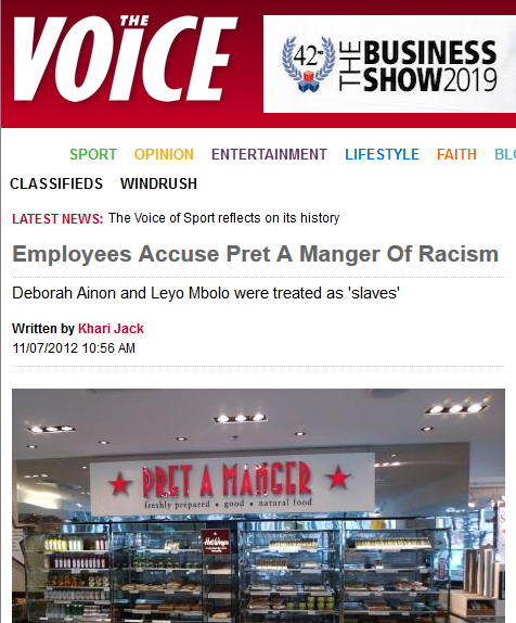 The Voice article
